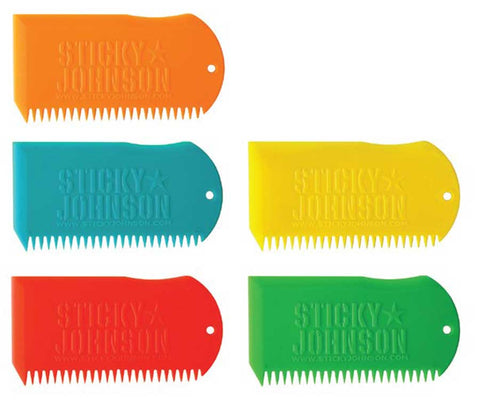 Sticky Johnson Wax Combs