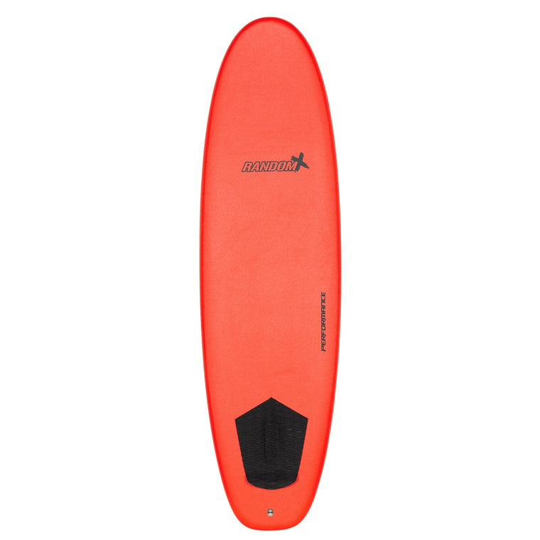 "Random X The Hog Performance Softboards 6'6"" - Red"