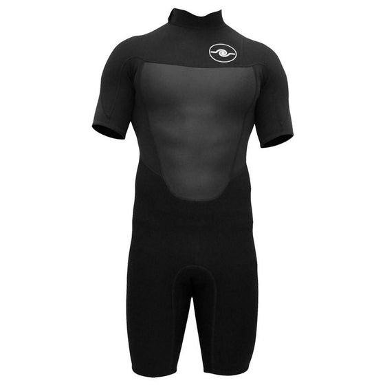 Mens 2/2 Spring Wetsuit - Black S - XXL
