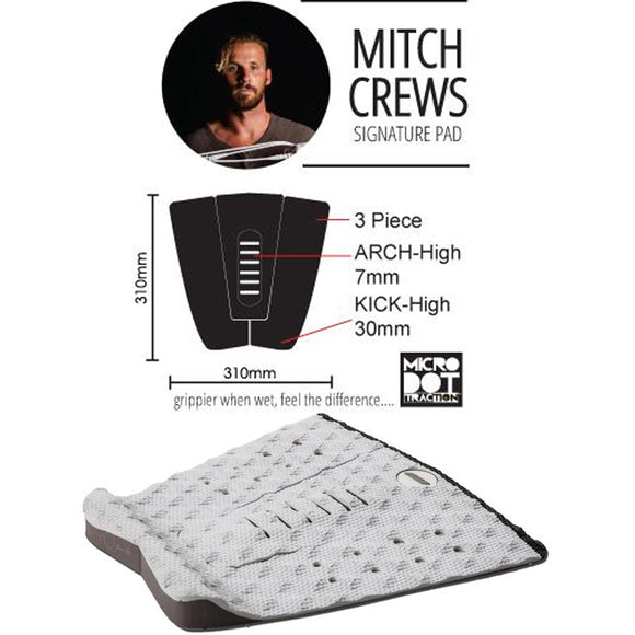 Mitch Crews Pro Signature Series - Black Red
