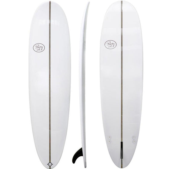 "Rocky Point Pinster Mini-mal White 6'8"" - 8'0"""