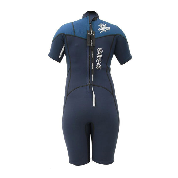 Youth 2/2 Spring Wetsuit - Navy 8 - 16