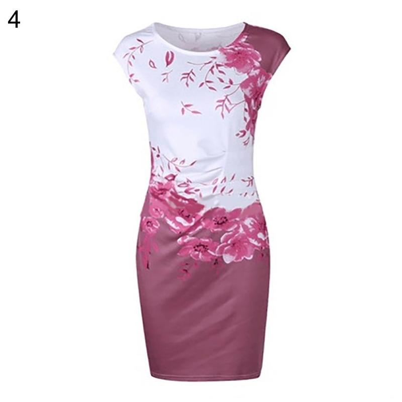 GOTCHA CRYSTAL Summer Plus Size Women Casual Sleeveless Dress