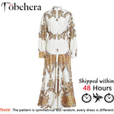 GOTCHA Paisley print maxi women dress Boho summer long dress