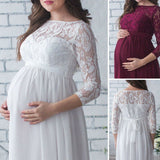 GOTCHA MUM Pregnancy Lace Dress