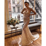 High Quality  Sexy Women Strapless Sequined Backless A-Line Rayon Bandage Simple Elegant Homecoming Evening Party Dress