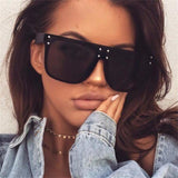 INFLUENCER II - Women's Square Flat Top Sunglasses Collection '19/20