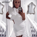 GOTCHA  Ruffles Tassel Fringe Mini Sexy Summer Dress
