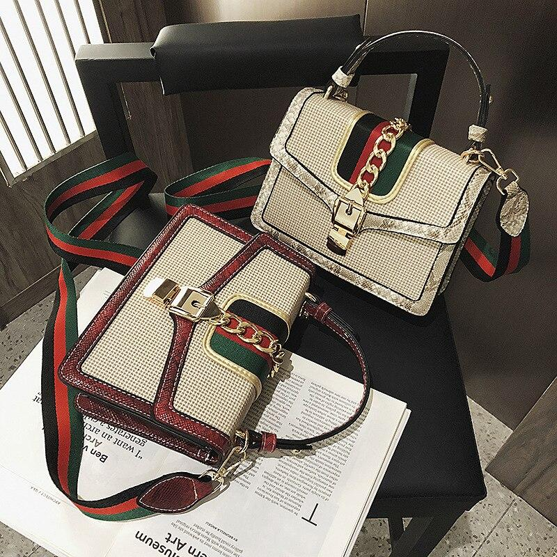 GOTCHA Small Crocodile Print Flap Bags For Women