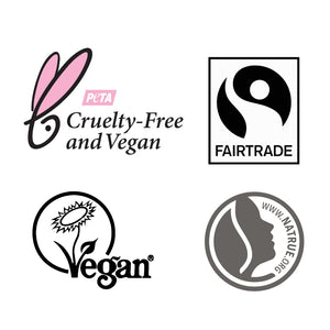 FAIR SQUARED Certifications | Cruelty-Free Fairtrade Vegan Natural Halal | BeoVERDE.ie