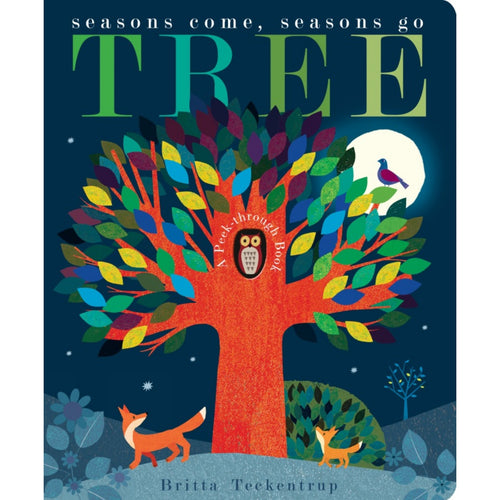 Tree: Seasons Come, Seasons Go | Children's Board Book on Nature