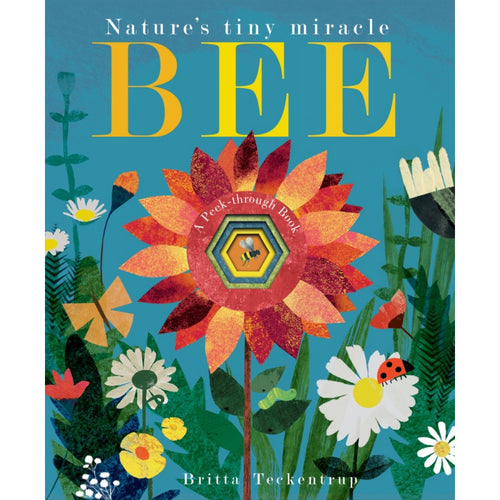 Bee: Nature's Tiny Miracle | Children's Board Book on Bees