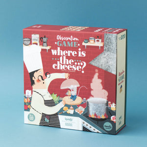 Londji WHERE IS THE CHEESE? Board Game | Board Game for Kids, Adults & the Whole Family | Box Front | BeoVERDE.ie