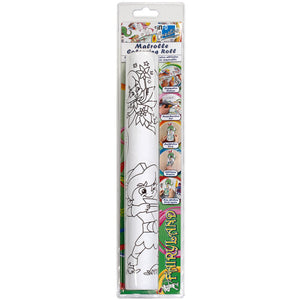 Self-Stick Colouring Book & Roll | Fairyland Adventures | Product Photo | BeoVERDE.ie