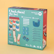 Load image into Gallery viewer, Londji CLUCK, CLUCK! THE FOX! Board Game | Board Game for Kids, Adults & the Whole Family | Box Back | BeoVERDE.ie