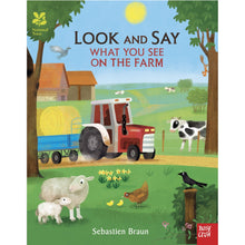 Load image into Gallery viewer, Look and Say What You See on the Farm | Children's Book on Farm Life