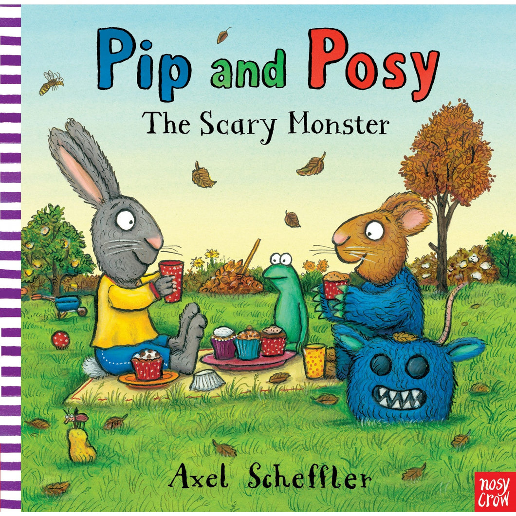 The Scary Monster  - Pip & Posy | Toddler's Book on Friendship