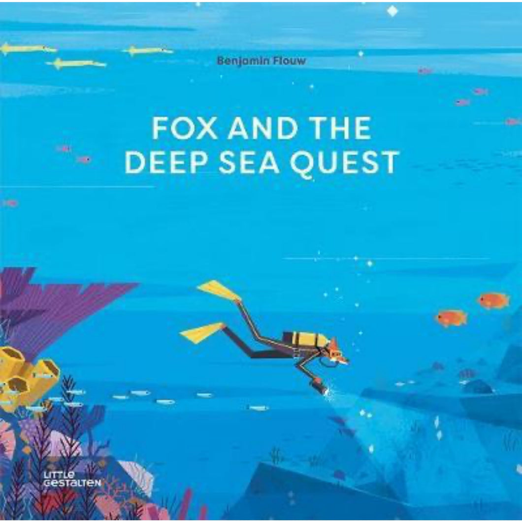 Fox and the Deep Sea Quest | Children's Book on Adventures