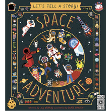 Load image into Gallery viewer, Let's Tell a Story: Space Adventure | Children's Book on Space & Aeronautics