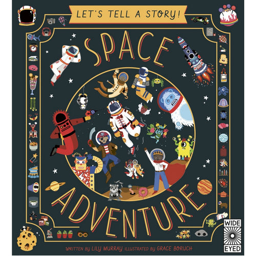 Let's Tell a Story: Space Adventure | Children's Book on Space & Aeronautics
