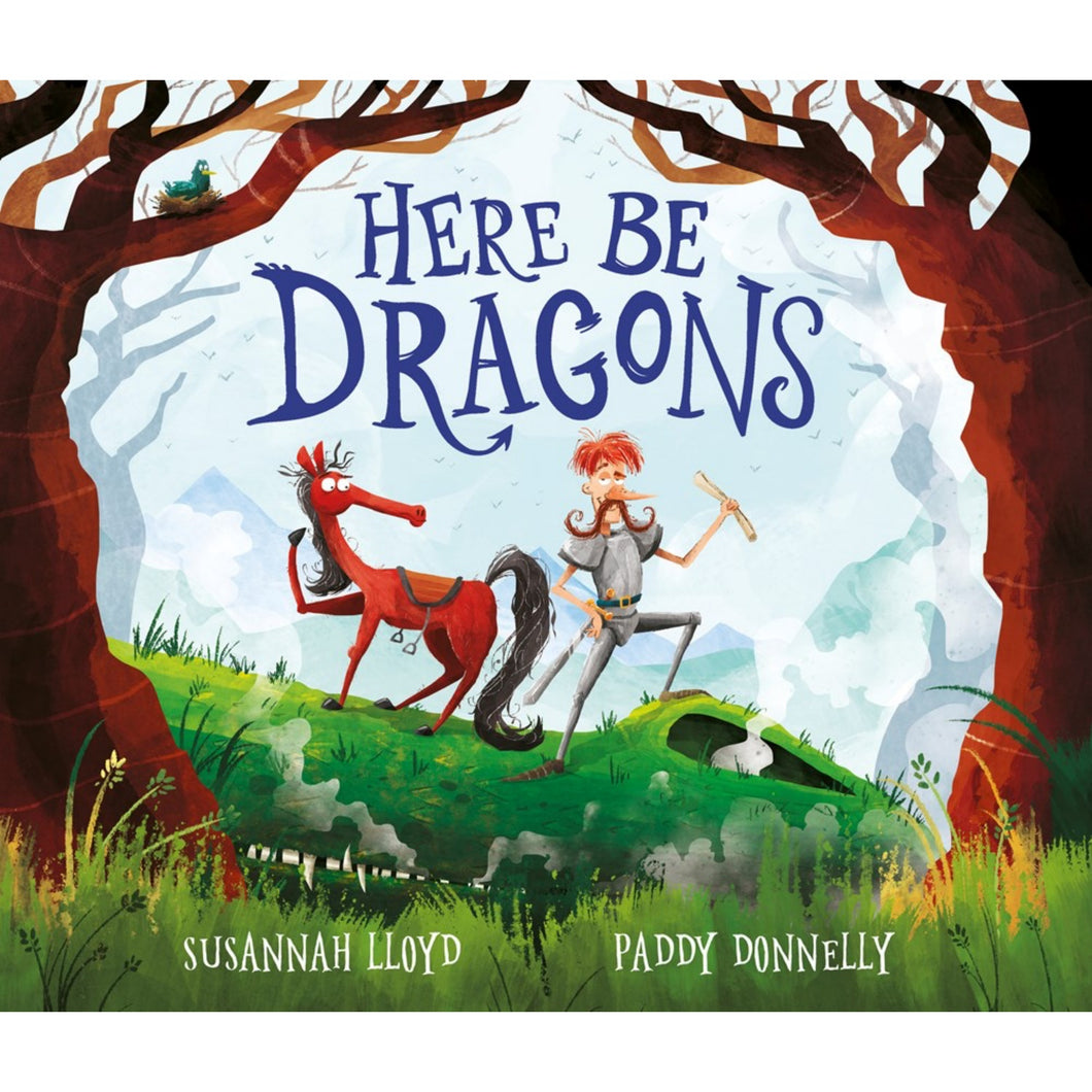 Here Be Dragons! | Children's Book on Adventures