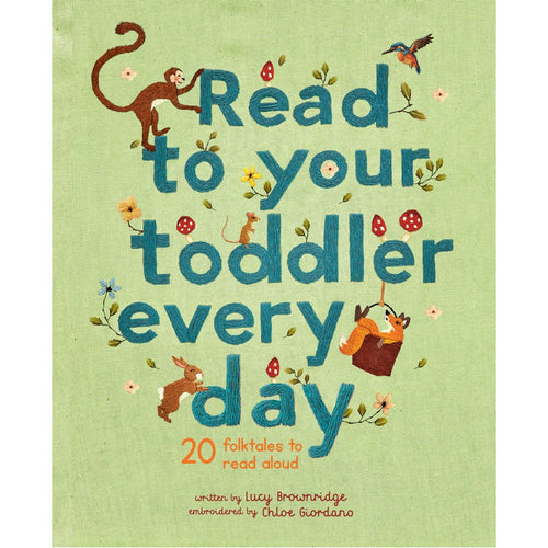 Read To Your Toddler Every Day: 20 Folktales To Read Aloud | Children's Book on Tales and Stories