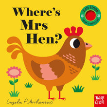 Load image into Gallery viewer, Where's Mrs Hen? | Felt Flaps Board Book for Babies & Toddlers
