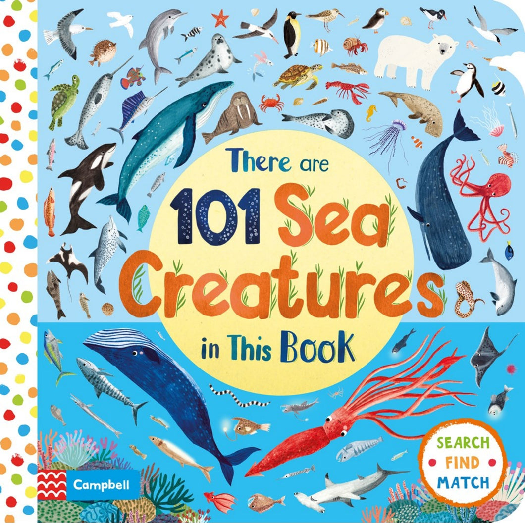 There Are 101 Sea Creatures in This Book | Children's Board Book on Marine Life