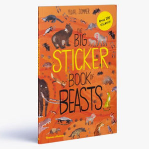 The Big Sticker Book of Beasts | Children's Activity Book on Nature