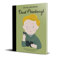 Load image into Gallery viewer, David Attenborough | Little People, BIG DREAMS | Children's Book on Biographies