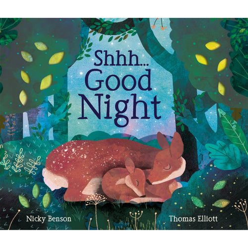 Shhh... Good Night | Children's Board Book on Animals