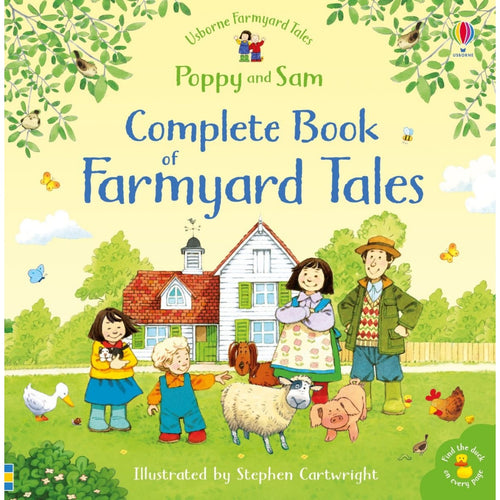 The Complete Book of Farmyard Tales | Children's Book on Farm Life | Usborne | Book Cover | BeoVERDE.ie