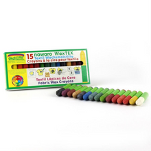 Load image into Gallery viewer, Non-Toxic Natural Textile Wax Crayons | 15 Vibrant Colours | BeoVERDE.ie