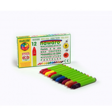 Load image into Gallery viewer, Child-Safe Natural Wax Crayons | 12 Vibrant Colours | BeoVERDE.ie