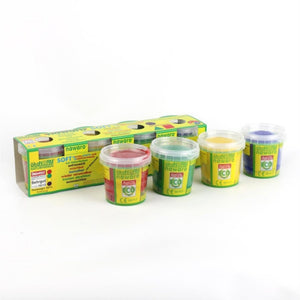 Child-Safe Natural Modelling Clay | 4 Vibrant Colours | BeoVERDE.ie