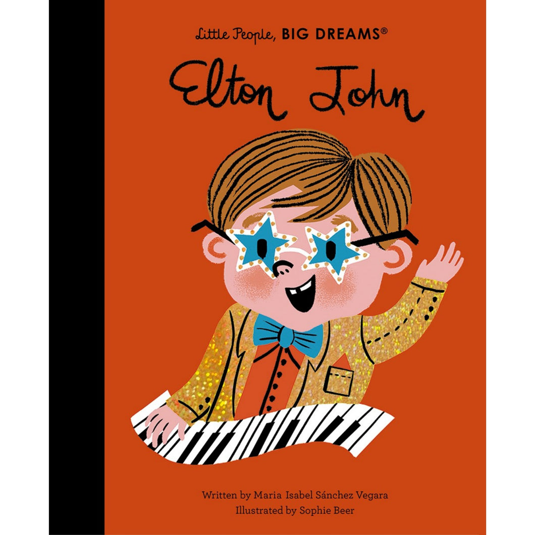 Elton John | Little People, BIG DREAMS | Children's Book on Biographies