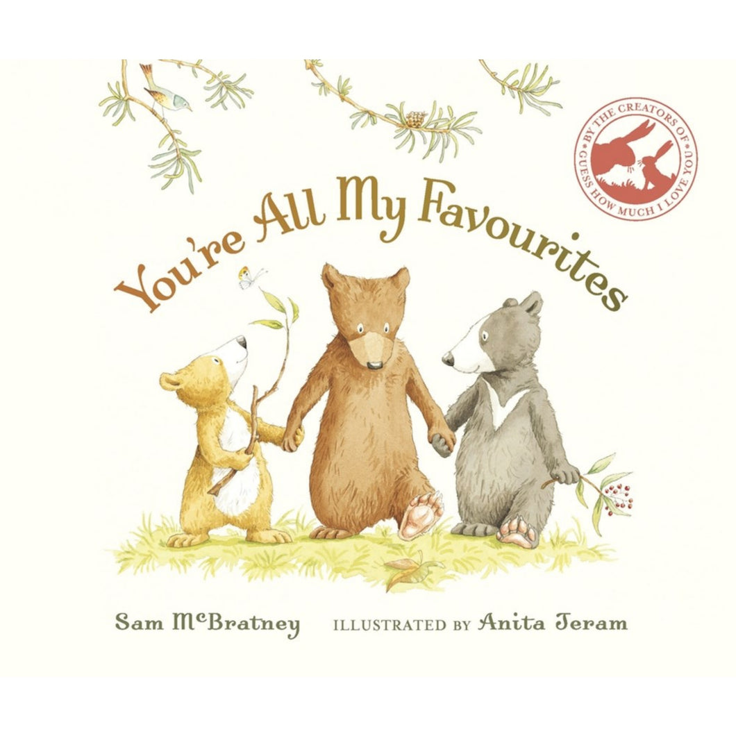 You're All My Favourites | Children's Book on Feelings