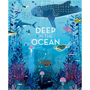 Deep in the Ocean | Children's Picture Book on Marine Life | Abrams Appleseed | Book Cover | BeoVERDE.ie