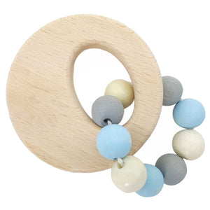 Circle | Clutching Toy | Baby's First Wooden Toy | Hess | Right Side | BeoVERDE.ie