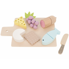 Load image into Gallery viewer, JaBaDaBaDo Tapas Board Play Set | Gorgeous Pretend Play Toys | Front View | BeoVERDE.ie