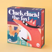 Load image into Gallery viewer, Londji CLUCK, CLUCK! THE FOX! Board Game | Board Game for Kids, Adults & the Whole Family | Front View – Box | BeoVERDE.ie