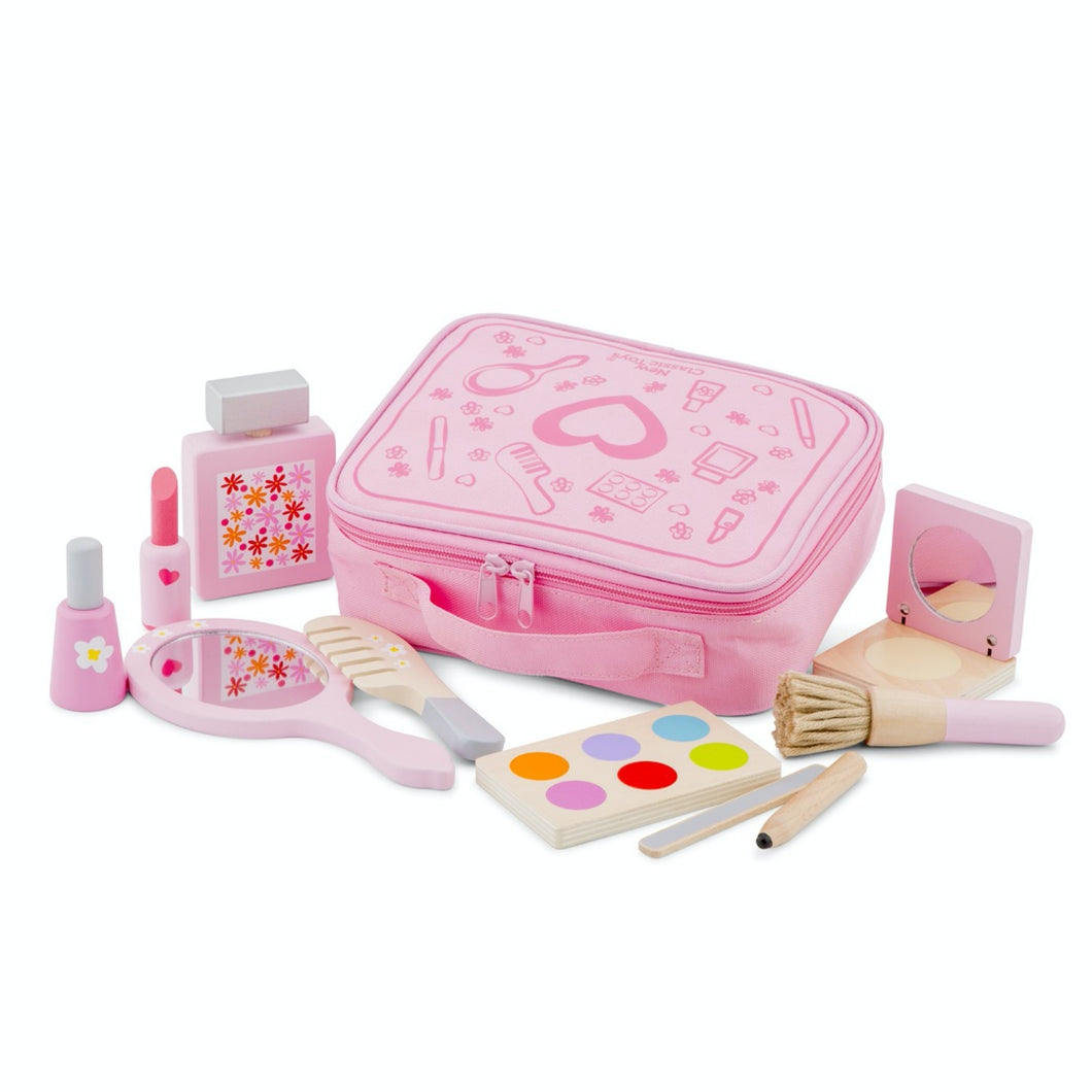 New Classic Toys Make Up Set | Wooden Pretend Play Toy | Front View 1 | BeoVERDE.ie
