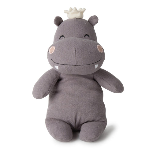 Picca LouLou Hippo | Imaginative Play Toy | Hand-Crafted Soft Toy Made From Cotton | Front | BeoVERDE.ie