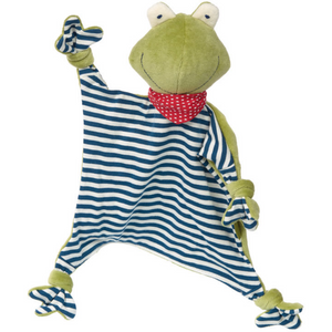 Sigikid Organic Frog Comforter | Baby's First Toy | Front | BeoVERDE.ie