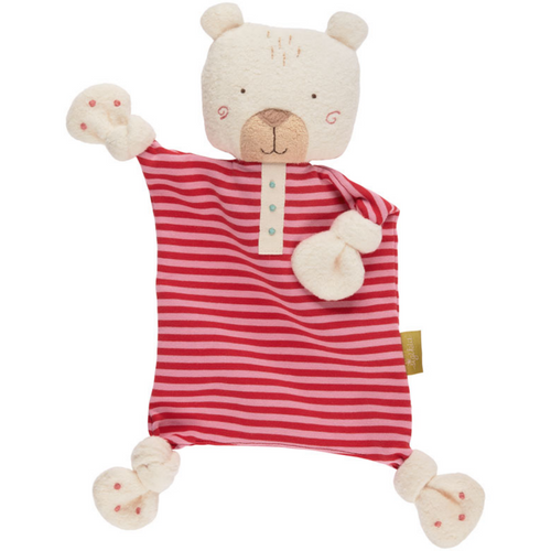 Sigikid Polar Bear| Organic Soft Comforter | Baby's First Soft Toy | Front View | BeoVERDE.ie