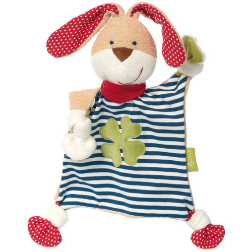 Sigikid Organic Rabbit Comforter | Baby's First Toy | Front View | BeoVERDE.ie
