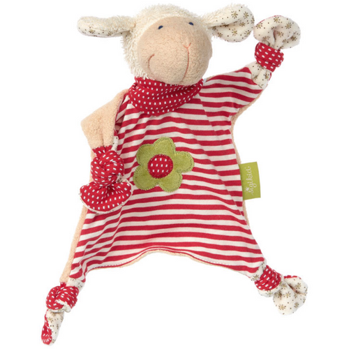 Sigikid Organic Sheep Comforter | Baby's First Toy | Front | BeoVERDE.ie