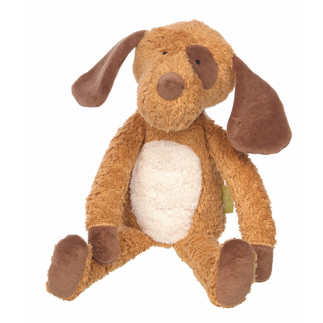 Sigikid Dog | Organic Plush Toy | Baby's First Toy | Front View | BeoVERDE.ie