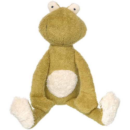 Sigikid Organic Frog Plush Toy | Baby's First Soft Toy | Front View | BeoVERDE.ie