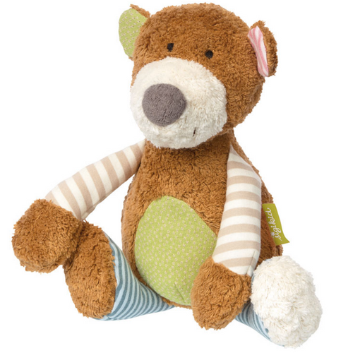 Sigikid Organic Bear Plush Toy | Baby's First Toy | Front View | BeoVERDE.ie